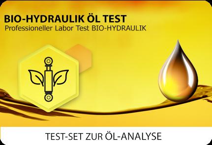 Öl Test Biohydraulik Bio-Öl