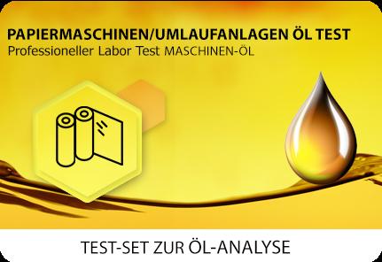Öl Test Papiermaschine Umlaufanlage