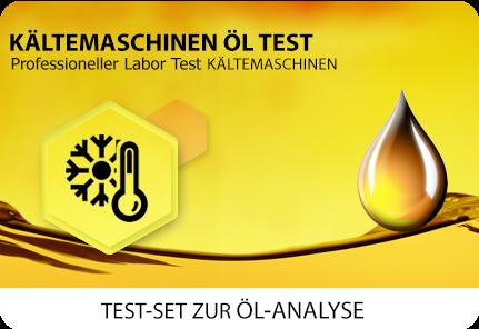 Öl Test Kältemaschine