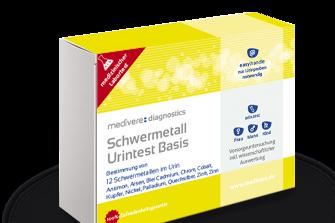 Schwermetalle Nachweis Urin