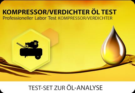 Öl Test Kompressor Verdichter