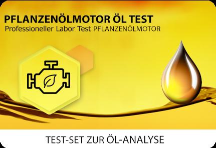 Öl Test Pflanzenöl Dieselmotor Dieselersatz